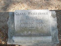 Clara <I>Weisenbach</I> Bender