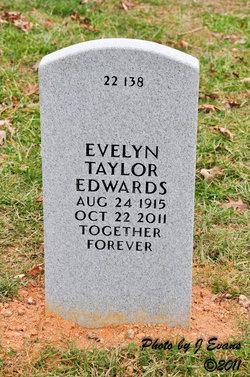 Evelyn <I>Taylor</I> Edwards