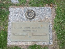 Callie Ann Allsbrook