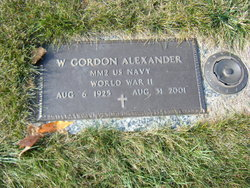 W Gordon Alexander