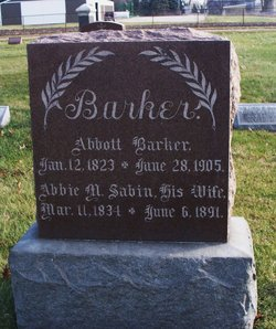 Abbie M. <I>Sabin</I> Barker