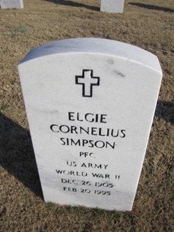 Elgie Cornelius Simpson