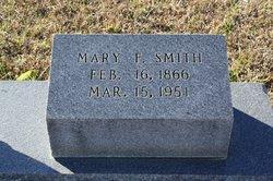 Mary Frances <I>Hawkins</I> Smith