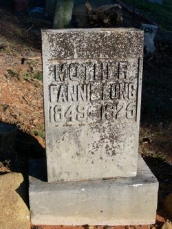 "Frances ""Fannie"" <I>Hunter</I> Long"