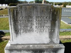 Lucy A <I>Hawkins</I> Stocks