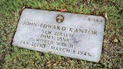 PhM3 John Edward Kantor