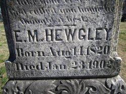 Elizabeth Mills <I>Hooker</I> Hewgley