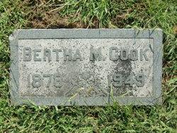 Bertha Maude <I>Watrous</I> Cook