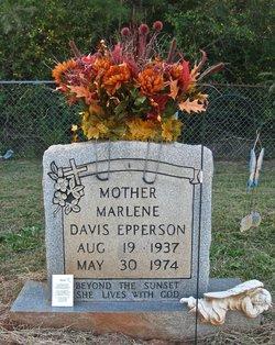 Marlene <I>Davis</I> Epperson