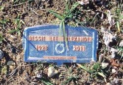 Bessie Lee <I>Barber</I> Alexander