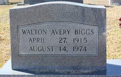 Walton Avery Biggs, Sr