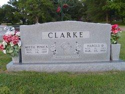 Harold Davison Clarke
