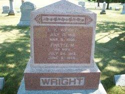 Finette M <I>Lockwood</I> Wright