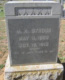 """Martha Augusta """"Gussie"""" <I>Appling</I> Stroud"""