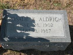 Rosalie <I>Kimball</I> Aldrich