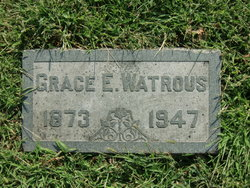Grace E Watrous