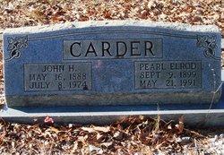 Pearl <I>Elrod</I> Carder