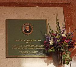"""Ellis S. """"Ted"""" Baker III"""