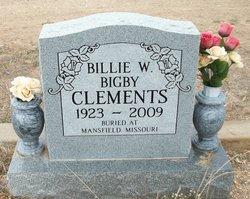 Billie Wynona <I>Bigby</I> Clements