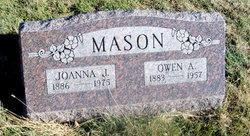 "Joanna Jenette ""Josie"" <I>Waugh</I> Mason"