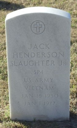 Jack Henderson Slaughter, Jr