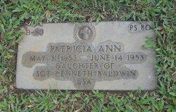 Patricia Ann Baldwin