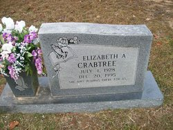 Elizabeth A <I>Terral</I> Crabtree
