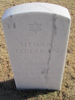 Hyman Federman