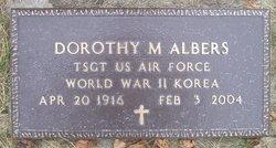 Dorothy M Albers