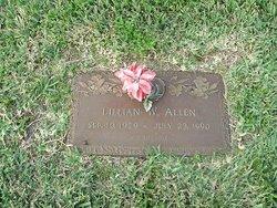 Lillian W Allen
