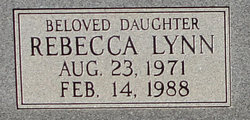Rebecca Lynn Spivey