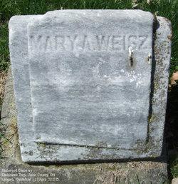 Mary <I>Abbott</I> Weisz