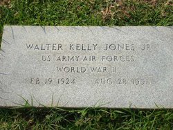 Walter Kelly Jones, Jr