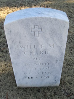 Willie M Currie