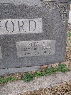 Alta <I>Saunders</I> Alford