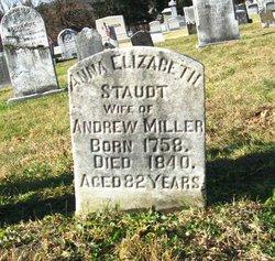 Anna Elizabeth <I>Staudt</I> Miller