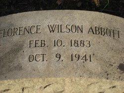 Florence H. <I>Wilson</I> Abbott