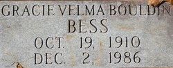 Gracie Velma <I>Bouldin</I> Bess
