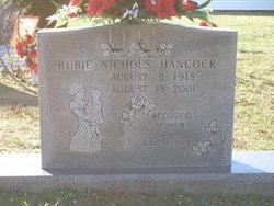 Rubie Irene <I>Nichols</I> Hancock