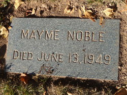 Mayme Noble