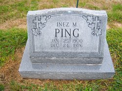 Inez May <I>Markwell</I> Ping