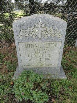 Minnie Etta Alley