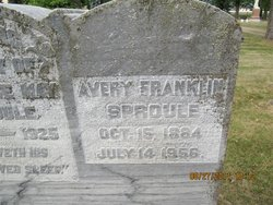 Avery Franklin Sproule