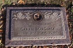 Carrie Lou Slack