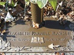 Elizabeth <I>Parnell</I> Ramsey