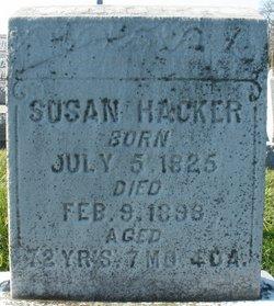 Susan <I>Bickel</I> Hacker