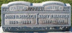 Mary B Hacker