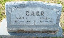 Mabel Francis <I>Zumwalt</I> Carr