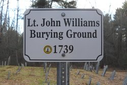 Lt John Williams Burying Ground