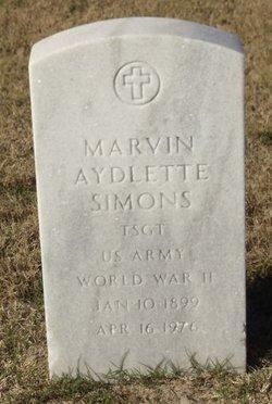 Marvin Aydlette Simons